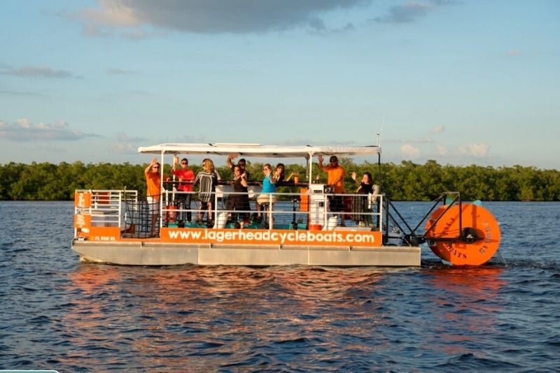Fort Lauderdale paddle boat tour