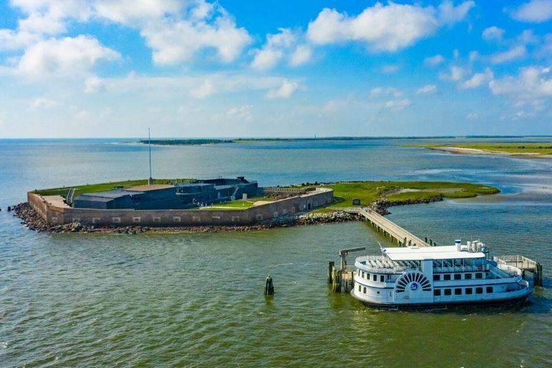 Fort Sumter National Monument near Charleston