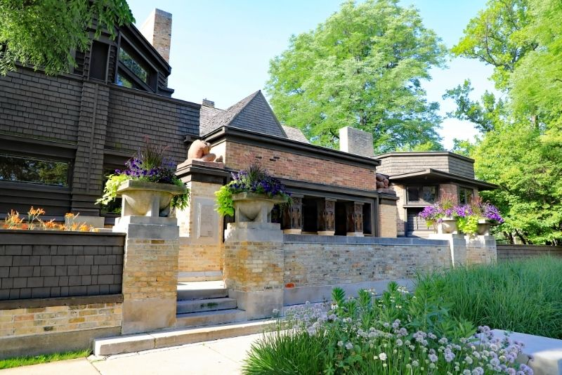 Frank Lloyd Wright's Home And Studio, Chicago