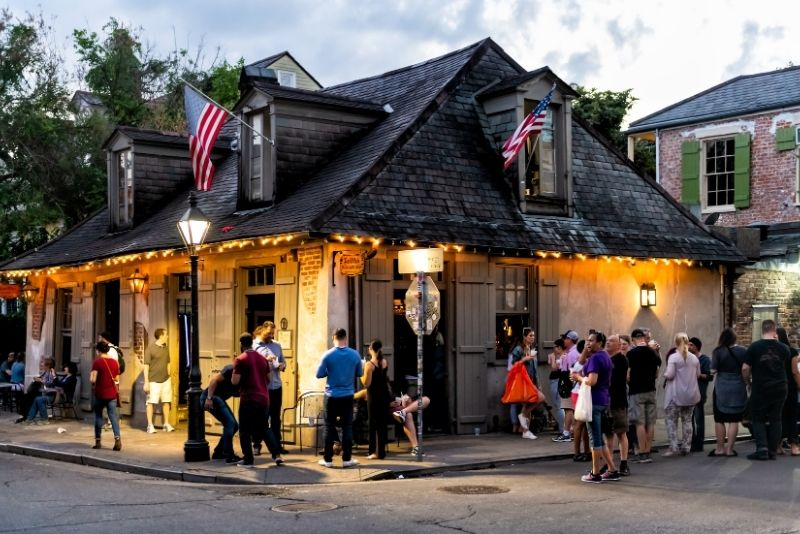 Lafitte's Blacksmith Shop Bar, New Orleans
