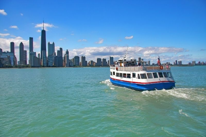 Lake Michigan sightseeing boat tour