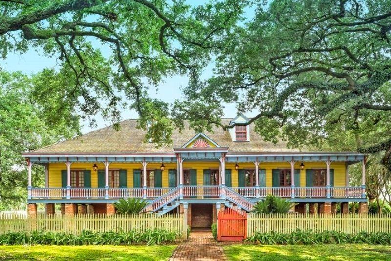 Laura Plantation near New Orleans