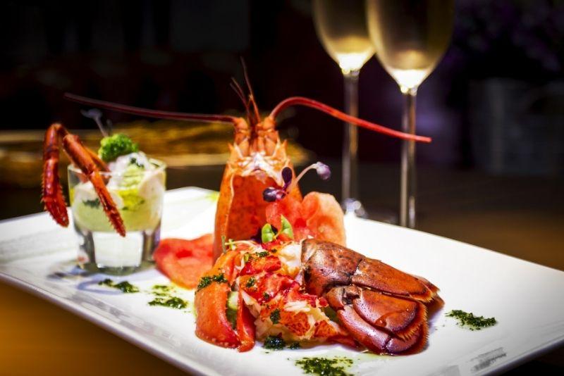 Lorenzillo's lobster restaurant, Cancun, Mexico