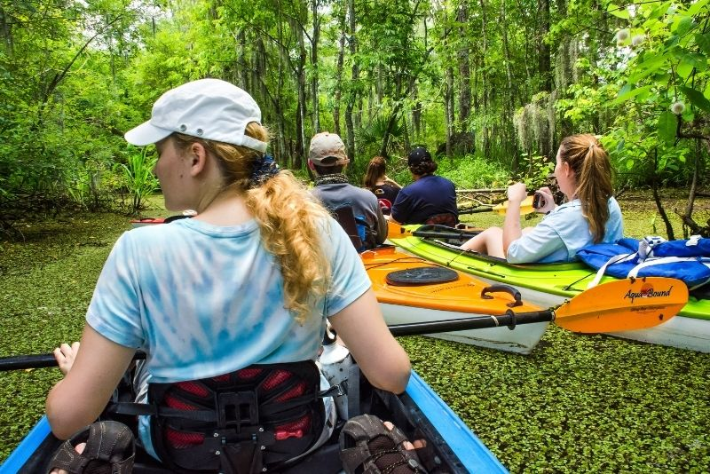 Manchac swamp kayak tour near New Orleans