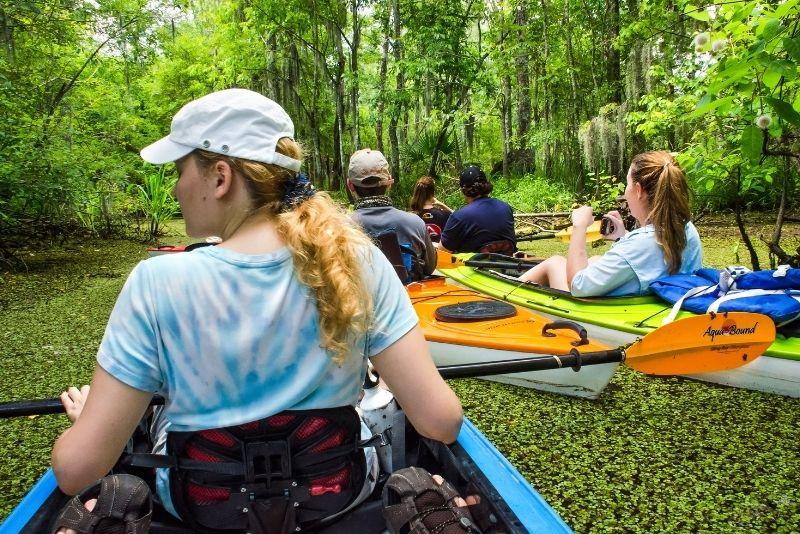 Manchac swamp kayak tour near New Orleans
