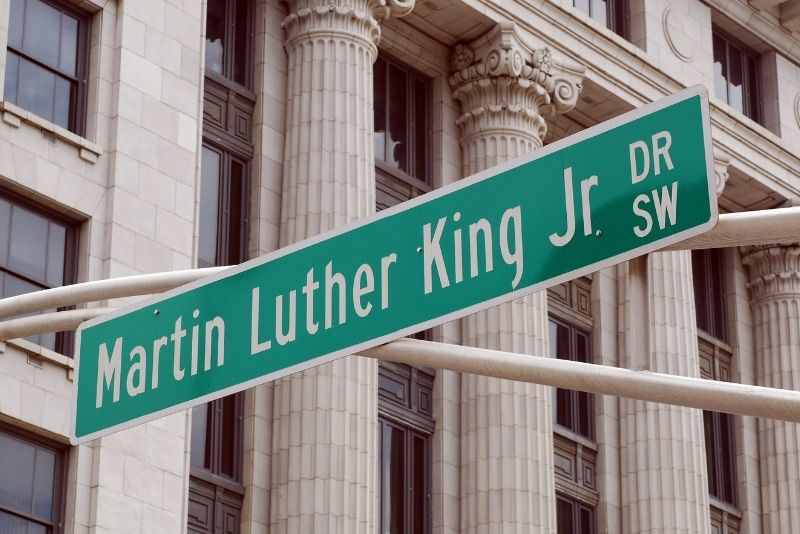 Martin Luther King Junior tour in Atlanta