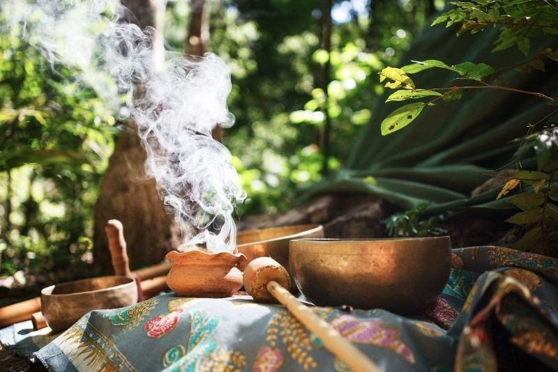 Mayan Temazcal Purification Ceremony, Cancun, Mexico