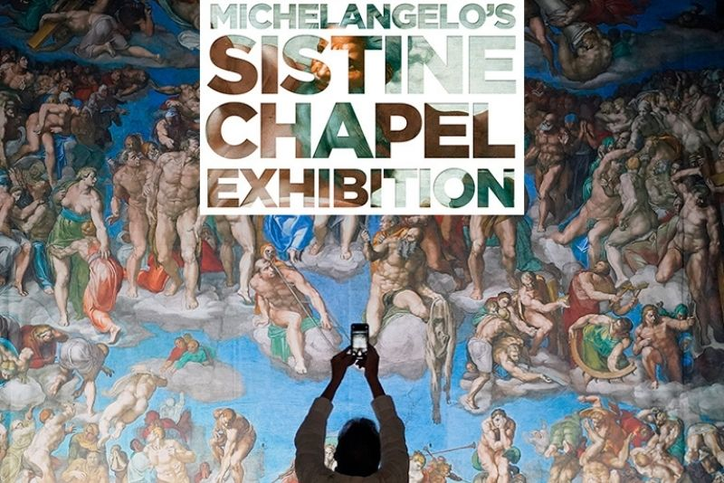 Michelangelo's Photo exhibition Chicago