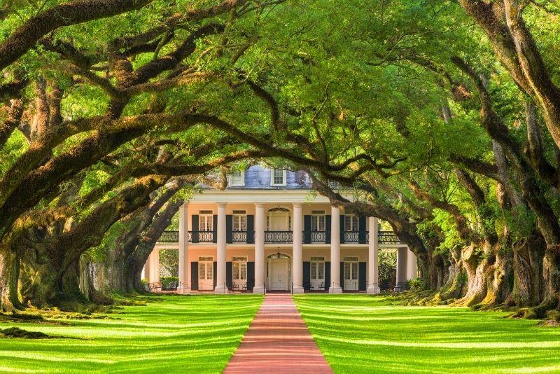 Oak Alley Plantation near New Orleans