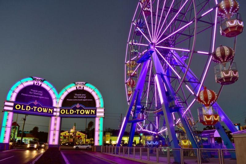 Old Town amusement park, Florida