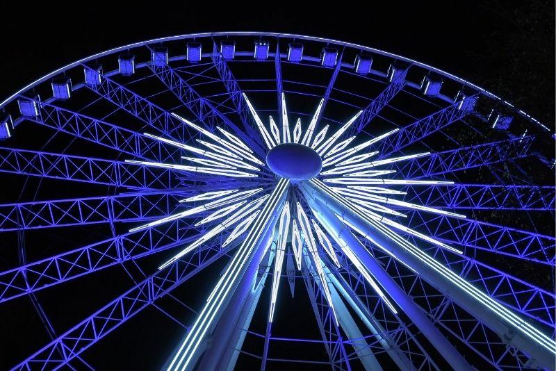 SkyView Atlanta ferry wheel