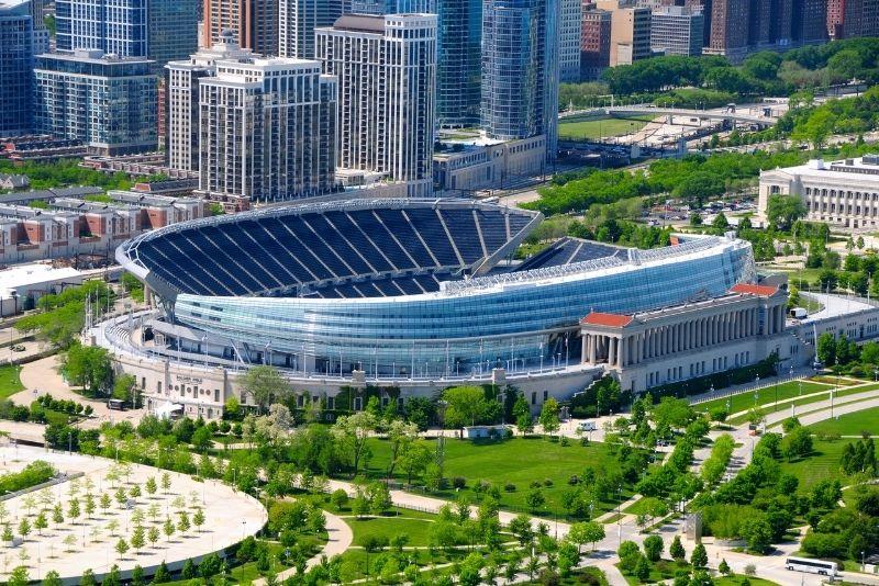 Soldier Field NFL game, Chicago