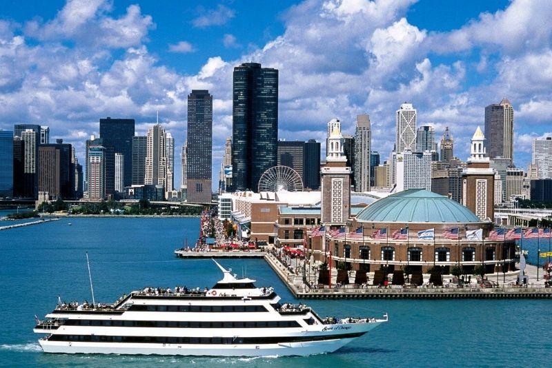 Spirit of Chicago dinner cruise