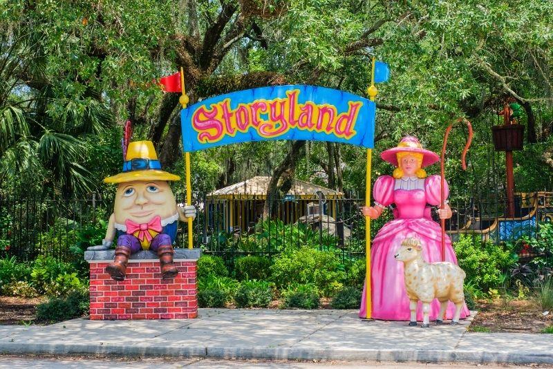 Storyland amusement park, New Orleans