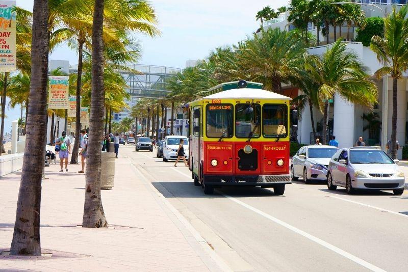 Sun Trolley, Fort Lauderdale