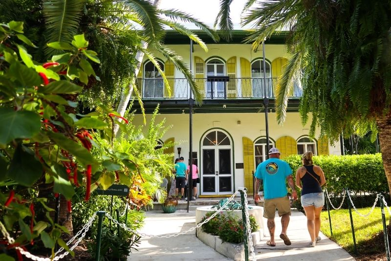 The Ernest Hemingway Home and Museum, Key West, Florida
