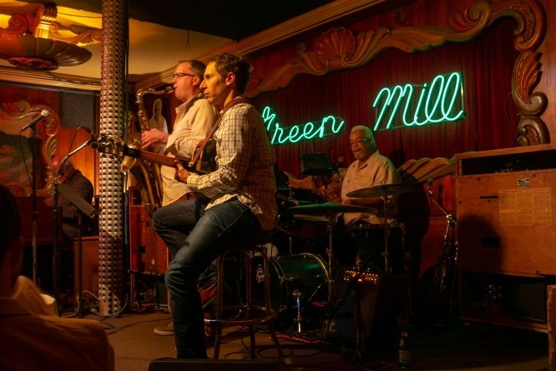 The Green Mill jazz club, Chicago