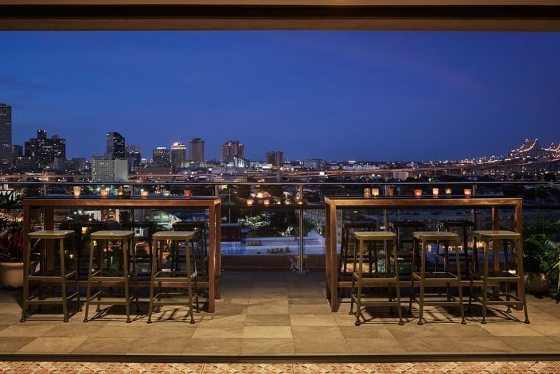 The Hot Tin Rooftop Bar, New Orleans