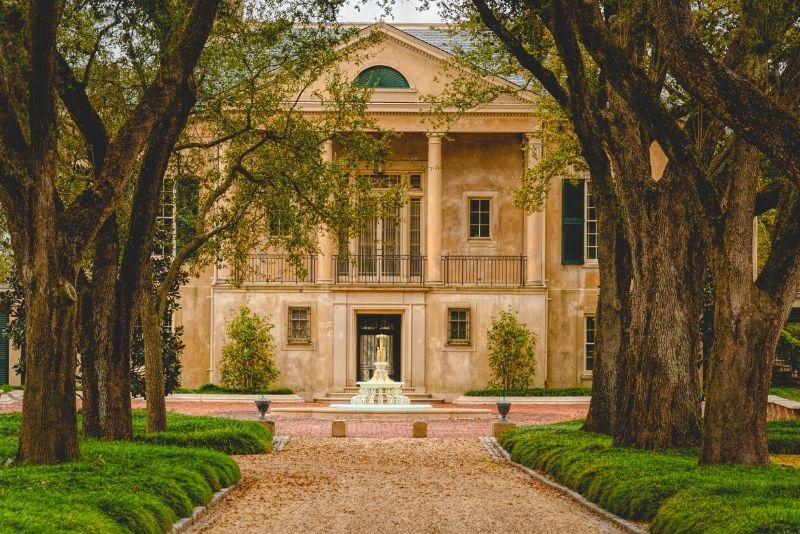 The Longue Vue House and Gardens near New Orleans