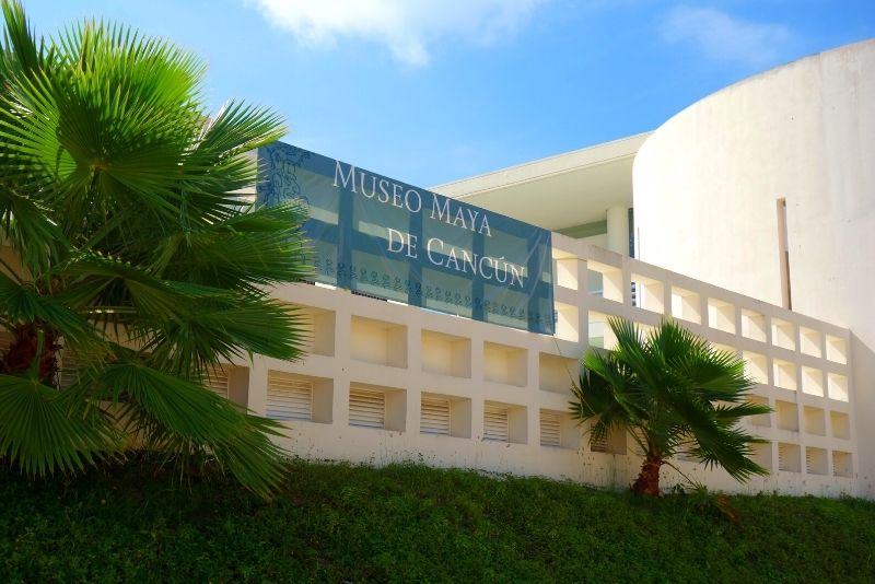 The Maya Museum, Cancun, Mexico