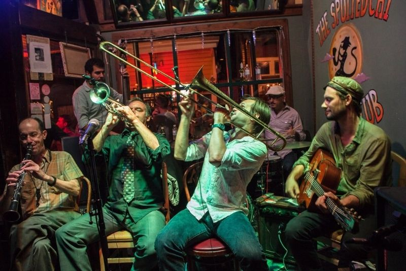 The Spotted Cat Music Club in New Orleans
