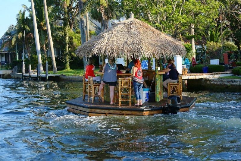 Tiki bar cruise, Fort Lauderdale