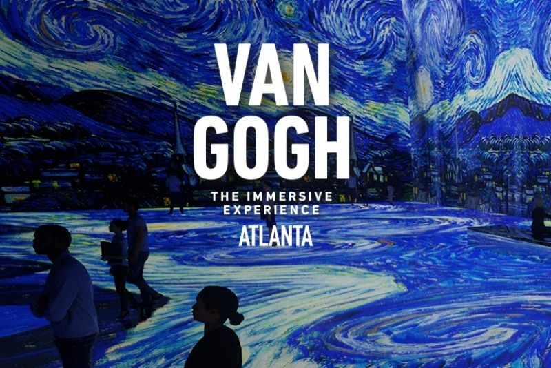 Van Gogh Experience Atlanta