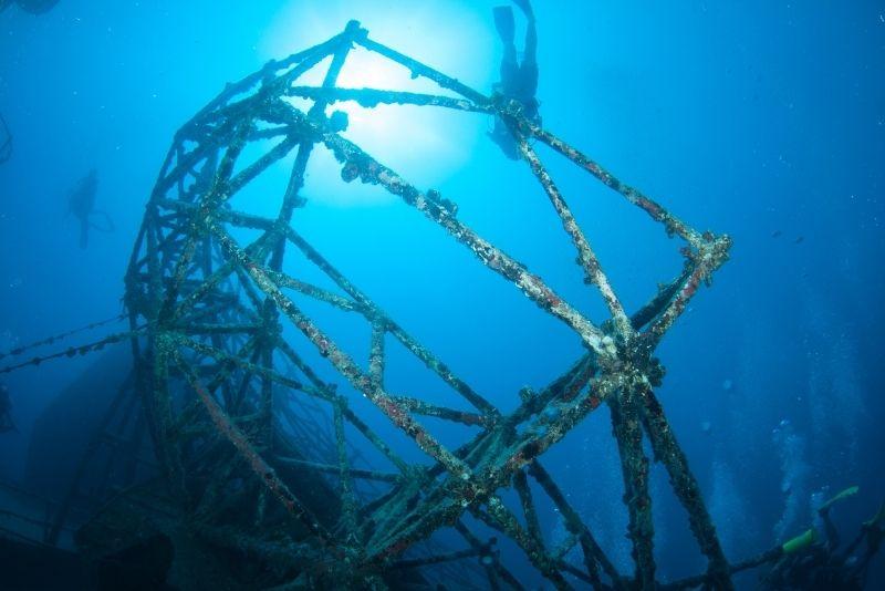 Vandenberg wreck diving, Key West, Florida