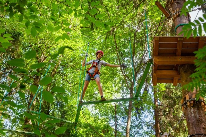 Wild Blue Ropes Adventure Park, Charleston