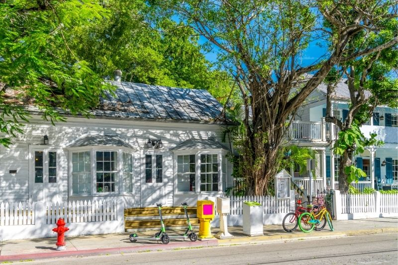 bike tour in Key West, Florida
