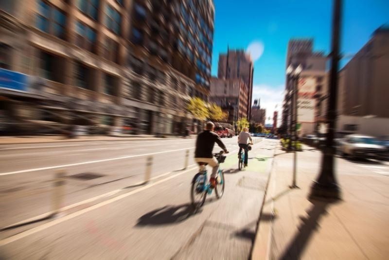 bike tour in Chicago