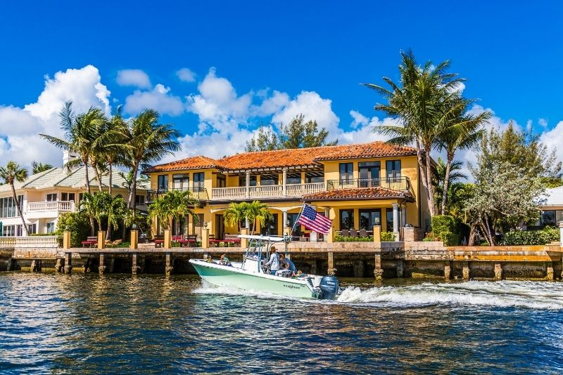 canal sightseeing cruise, Fort Lauderdale