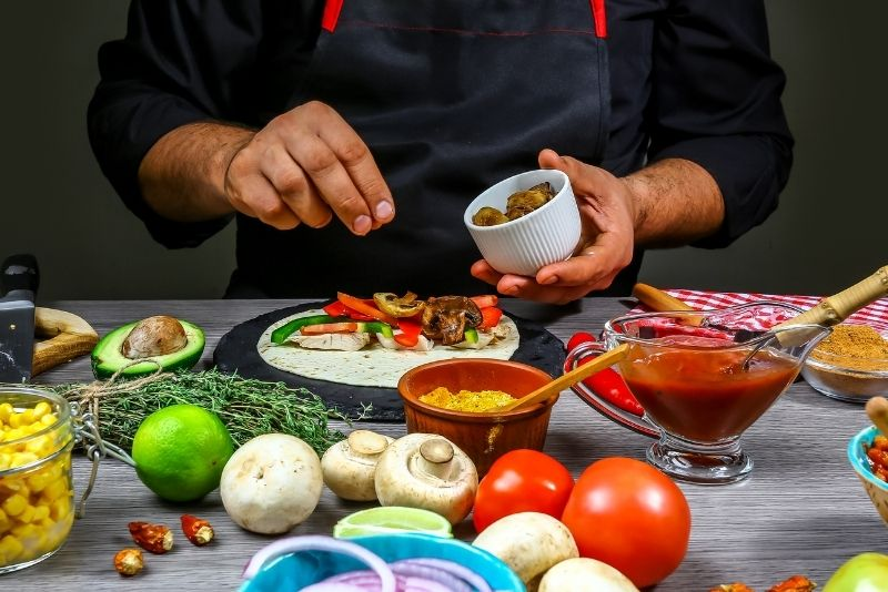 cooking class in Cancun, Mexico