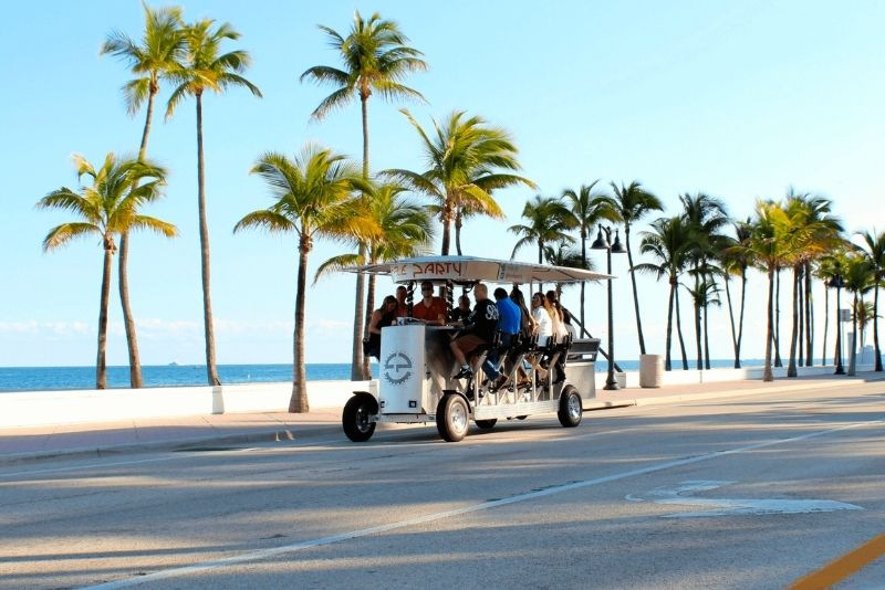 cycling party in Fort Lauderdale