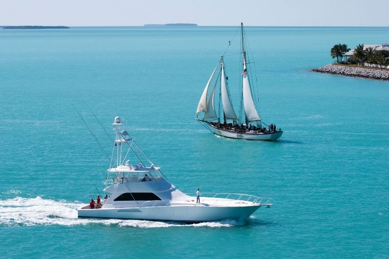 fishing day trip, Key West, Florida