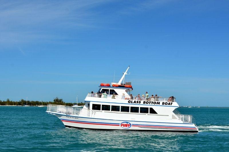 glass bottom tour, Key West, Florida
