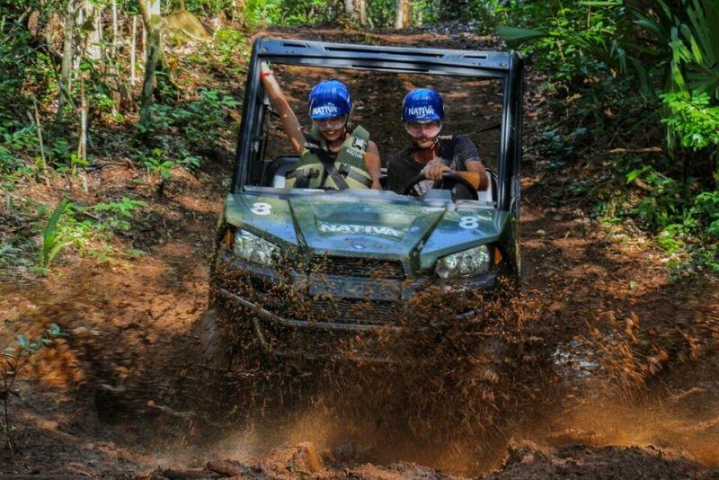 jeep tour in Reserva Nativa, Mexico