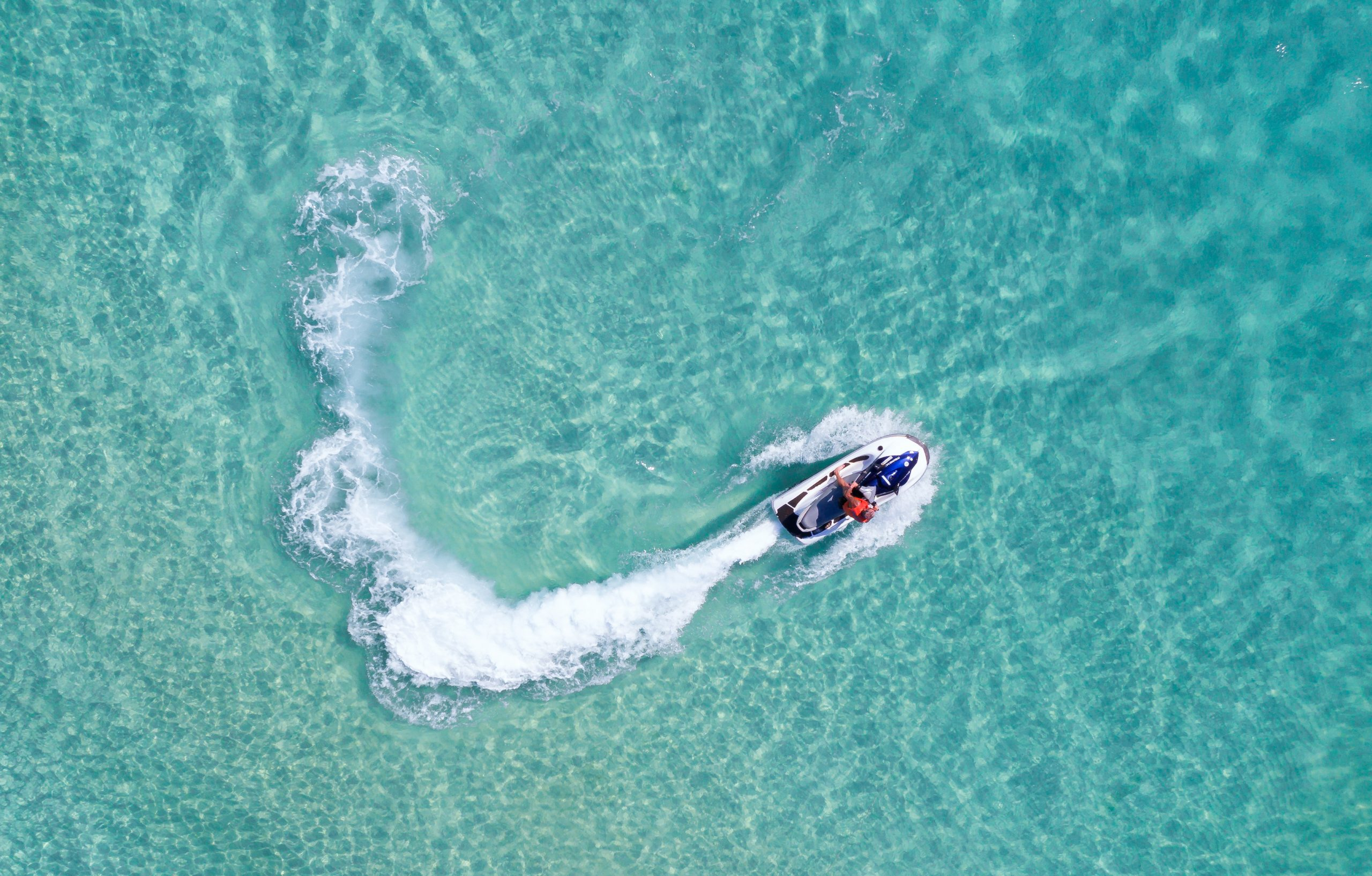jet ski in Cancun, Mexico