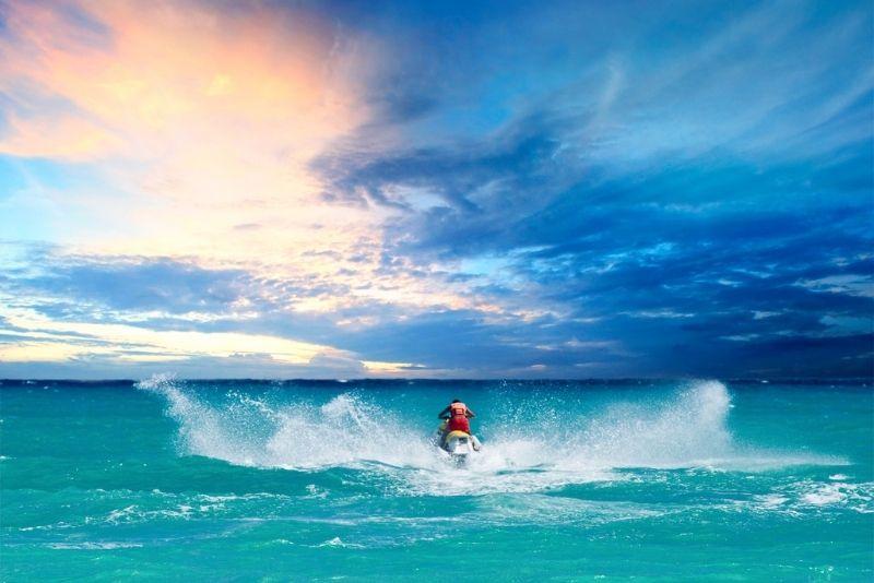 jetski in Key West, Florida