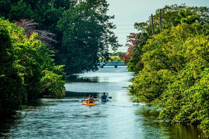 kayak tour in Fort Lauderdale