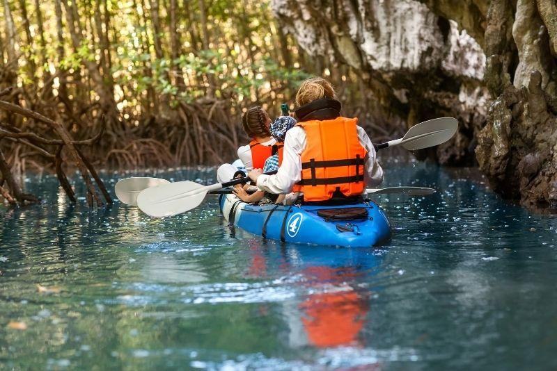 mangrove kayak eco tour, Key West, Florida