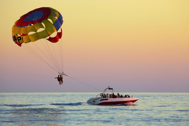 parasailing in Key West, Florida