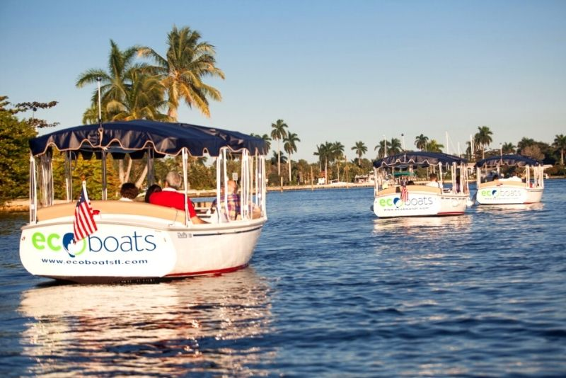 private electric boat, Fort Lauderdale