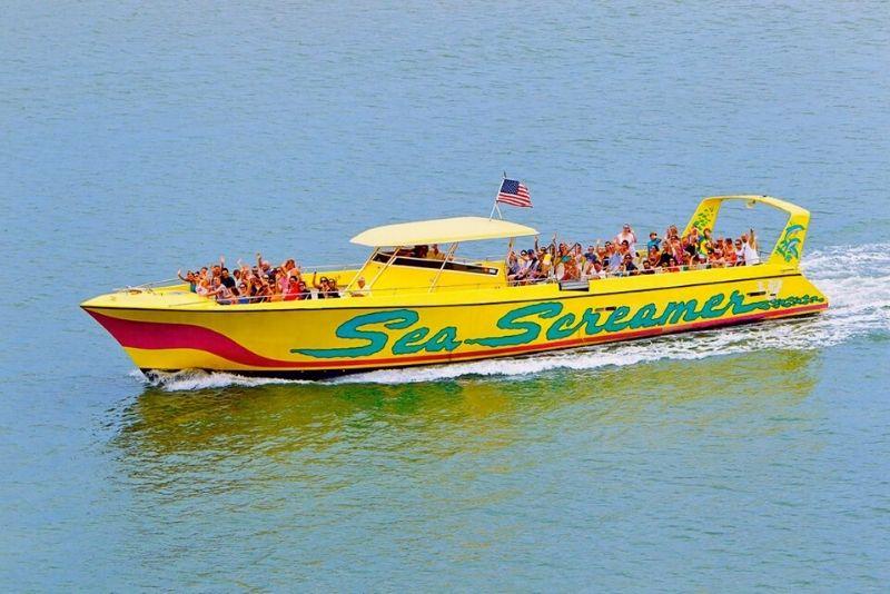 sea screamer speed boat tour