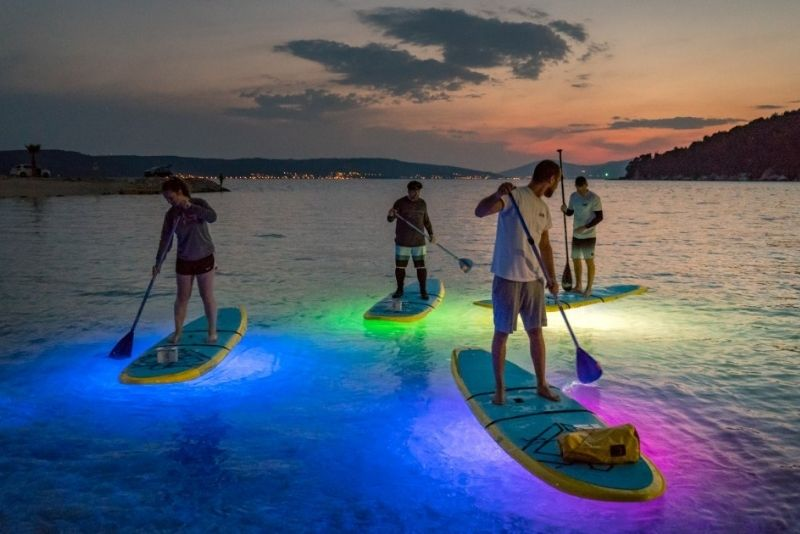stand up paddle at night, Orlando