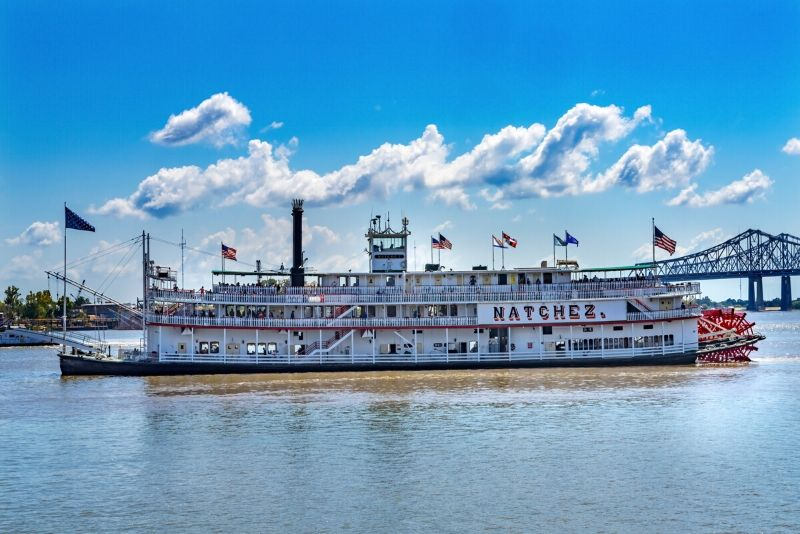 steamboat Natchez cruise in New Orleans