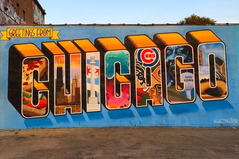 street art tour in Chicago