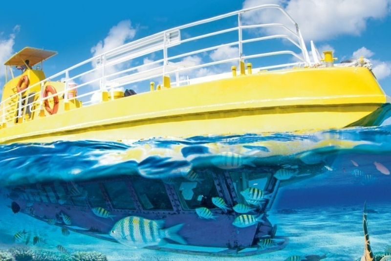 submarine tour in Cancun, Mexico