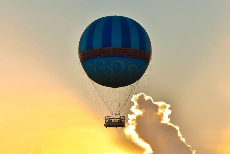 sunrise hot air balloon ride, Orlando