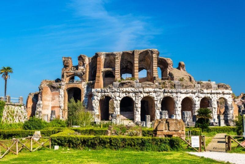 Altes Capua Amphitheater